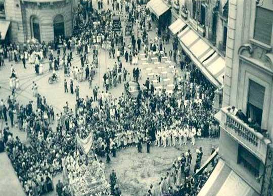 procesion corpus christi granada