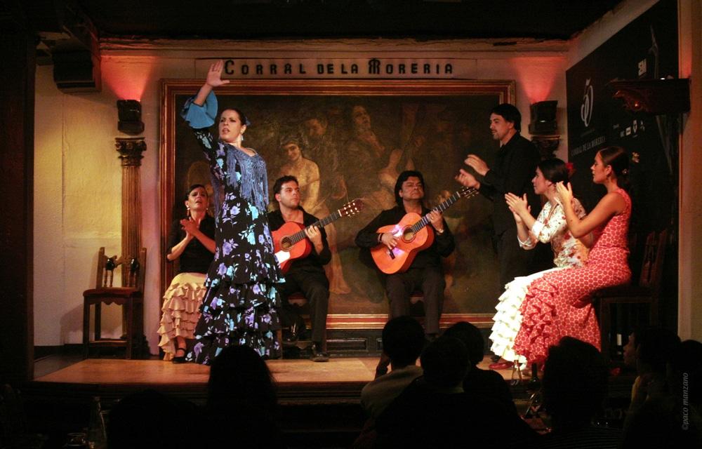 tablao flamenco corral moreria