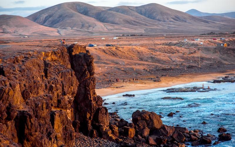 La costa de El Cotillo es una de las más interesantes de las islas