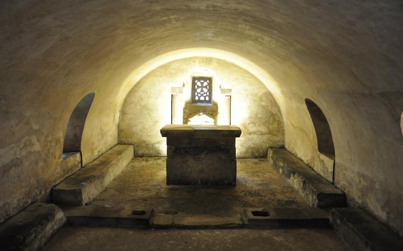 Cripta de Santa Leocadia, Cámara Santa