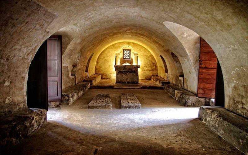 Imagen general de la cripta de santa Leocadia