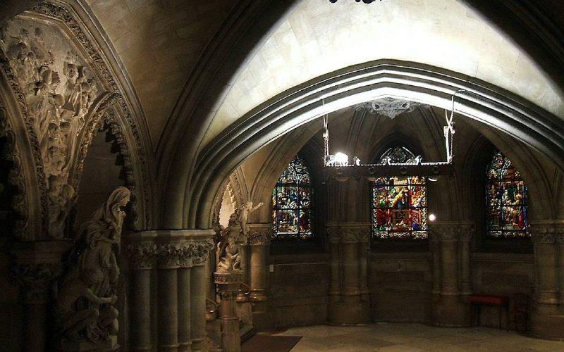 Cripta de la catedral de María Inmaculada en Vitoria