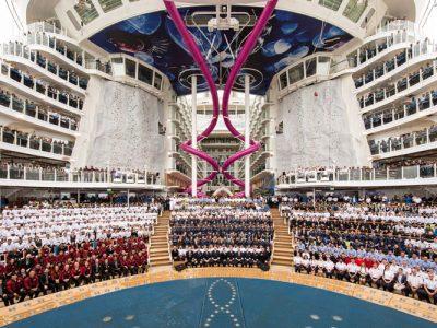 ¿Cómo es el crucero más grande del mundo?