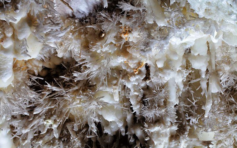 Formaciones de la cueva El Soplao