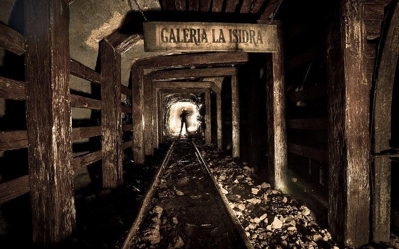 Galería La isidra en la cueva de El Soplao