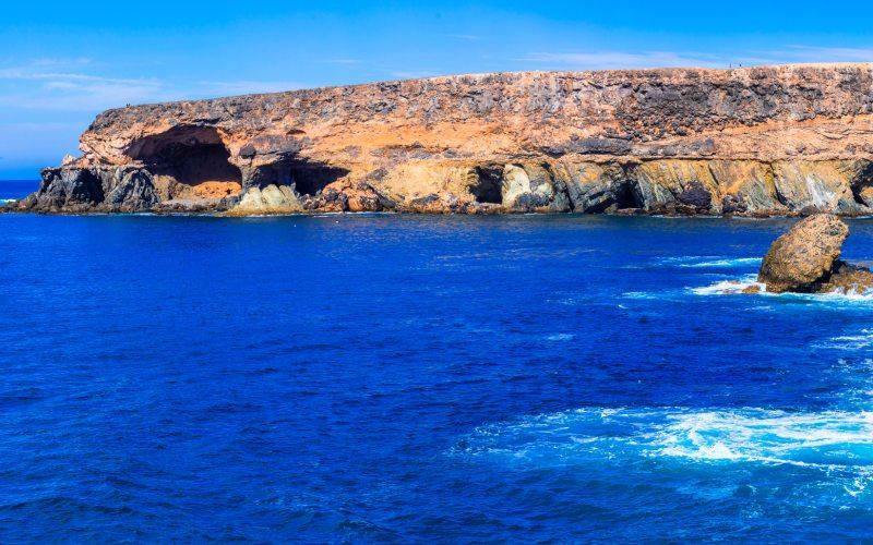Apertura marina de las Cuevas de Ajuy