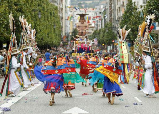 desfile folclore mejicano