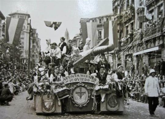 desfile asturias