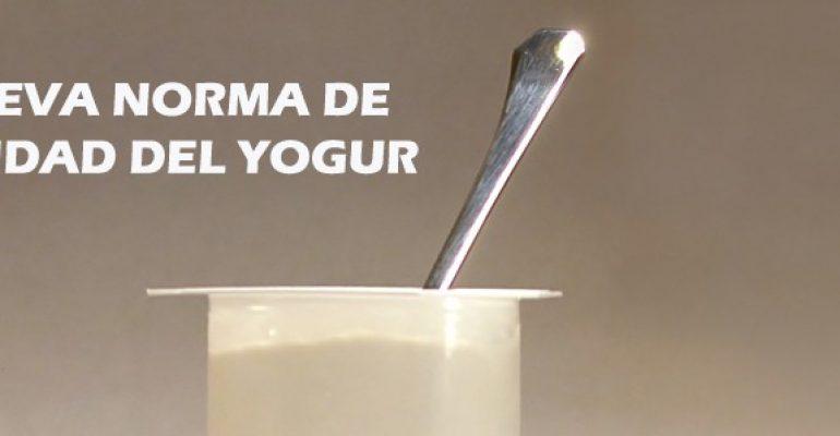 Yogur sin caducidad – Nueva norma de calidad