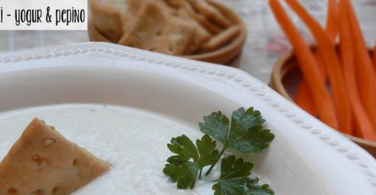 Salsa griega de yogur & pepino – Tzatziki