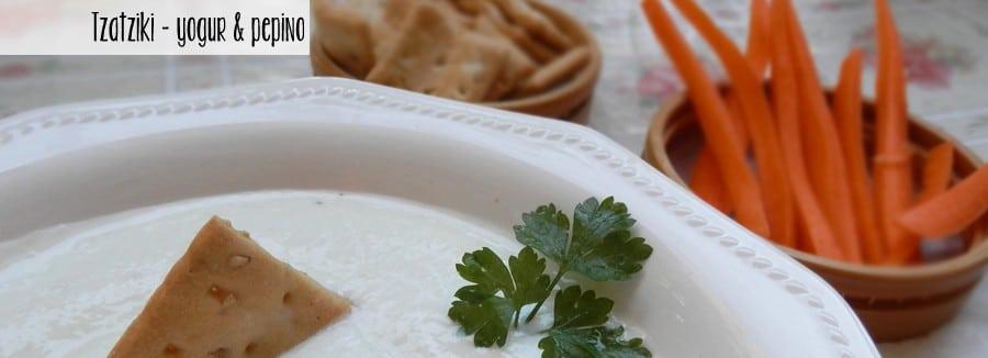 tzatziki salsa griega