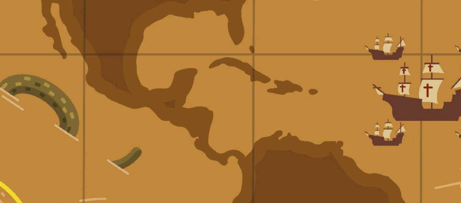 Este es nuestro mapa de la vuelta al mundo de Magallanes y Elcano