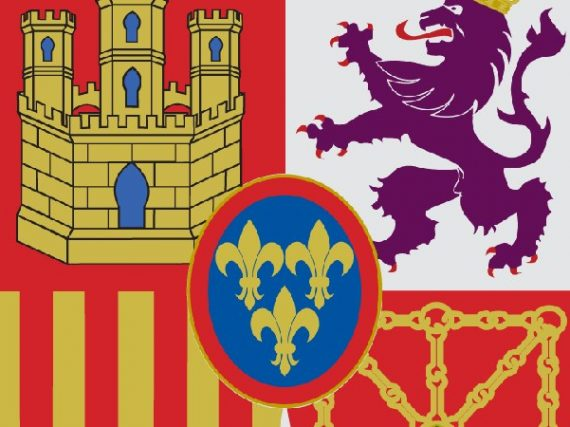 La historia del escudo de España