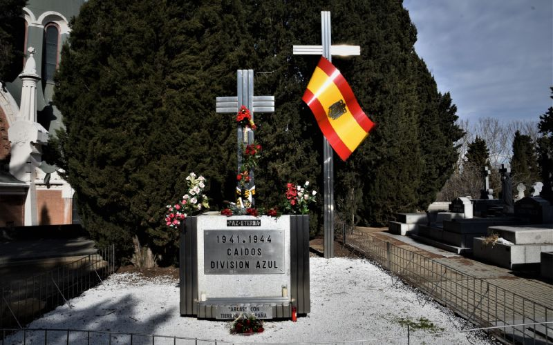 Homenaje a los caídos de la División Azul