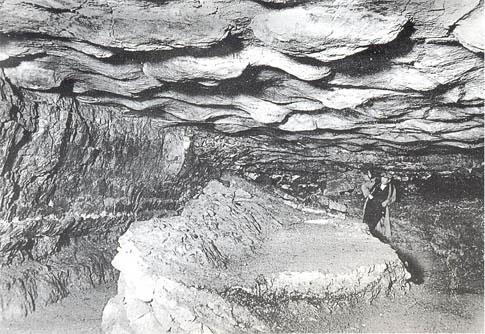 Imagen del Dr. Hugo Obermaier del Gran Techo de las Cuevas de Altamira