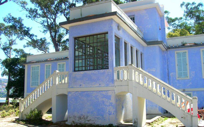 Edificio del lazareto de San Simón