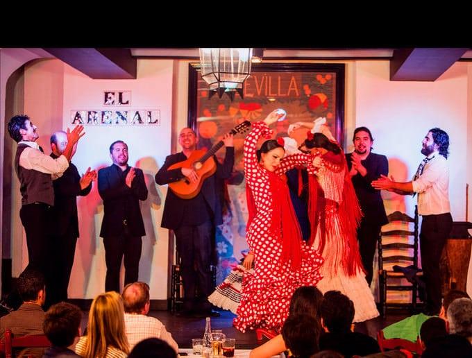 tablao flamenco arenal