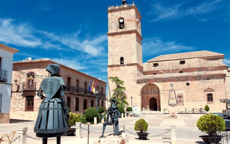 Esculturas de Don Quijote y Dulcinea, El Toboso