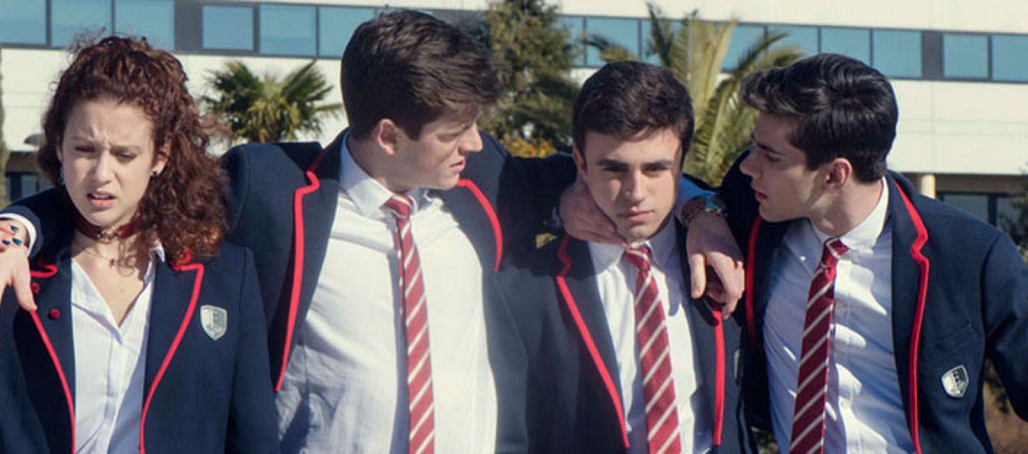 Élite, la serie española de instituto para la generación Z