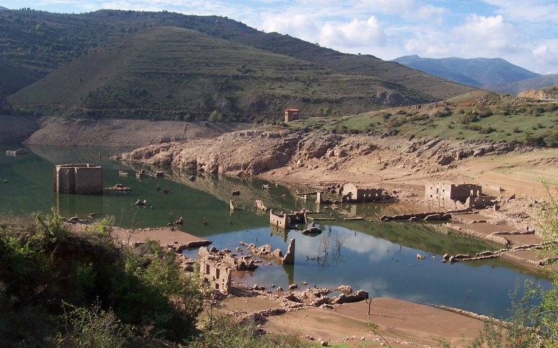 Ruinas de lo que es actualmente el antiguo Mansilla