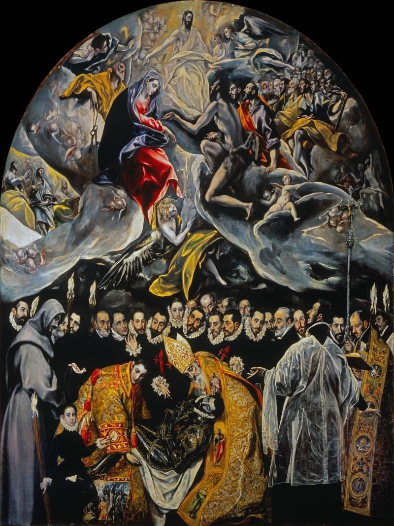 El entierro del Conde de Orgaz