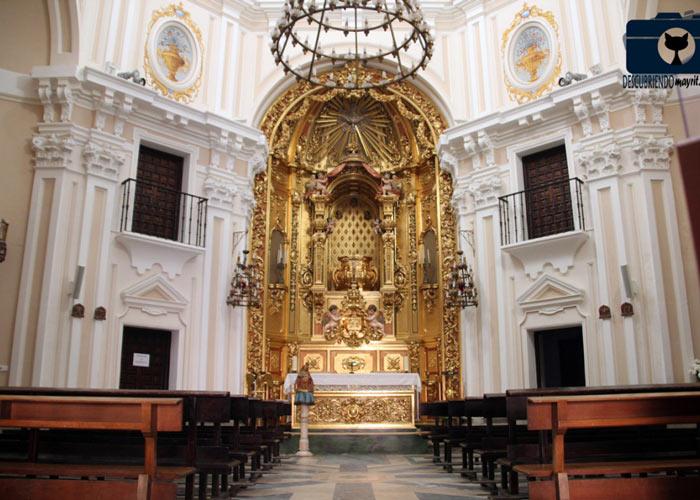 Madrid ermita virgen puerto altar