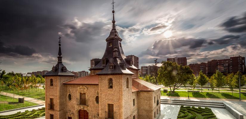 Madrid ermita virgen puerto fachada
