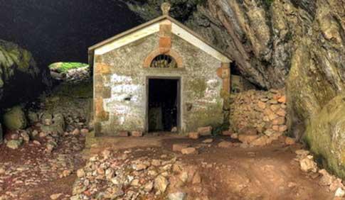ermita san adrian tunel
