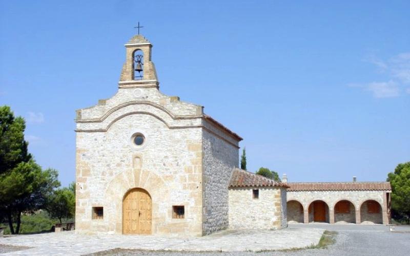 Ermita de San jorge en Fayón