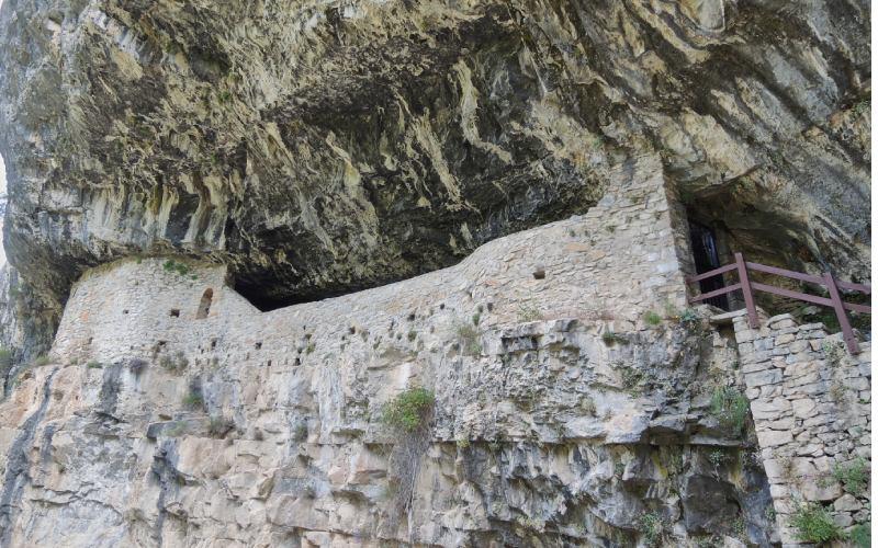 Vista inferior de la ermita de San Úrbez
