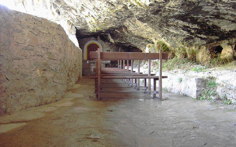Interior de la ermita de San Úrbez