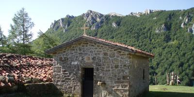 Ermita Sancti Spiritu en Zegama