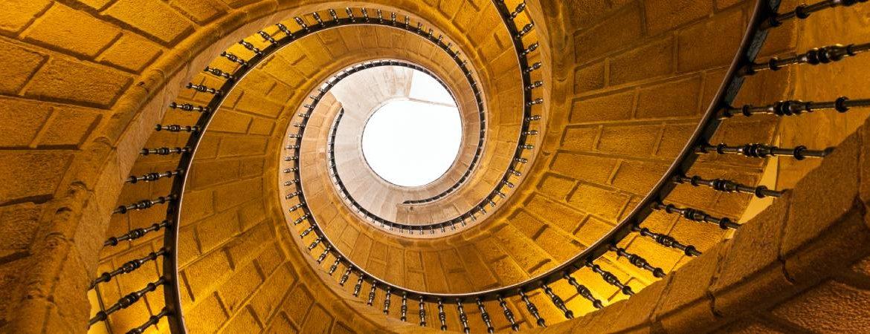 Escalera helicoidal Santo Domingo de Bonaval