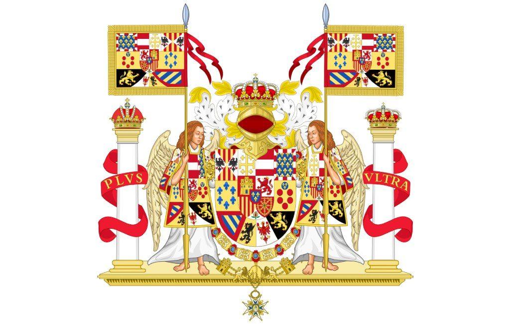Escudo ornamentado de España en 1931