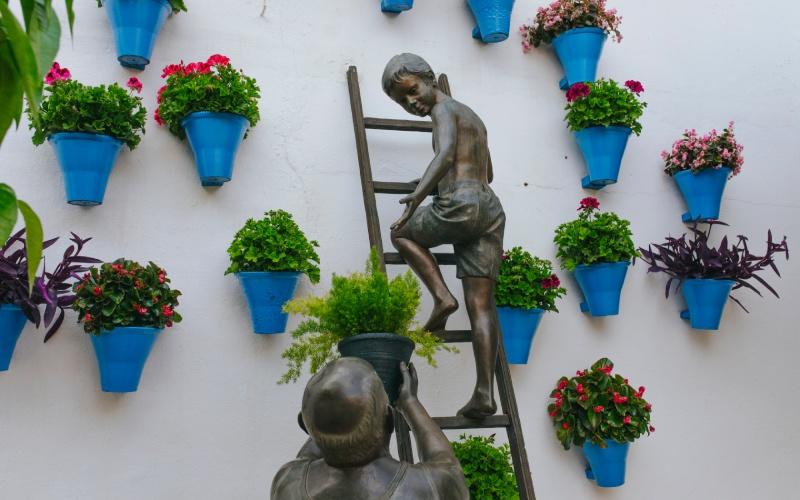 Escultura de los Patios de Córdoba