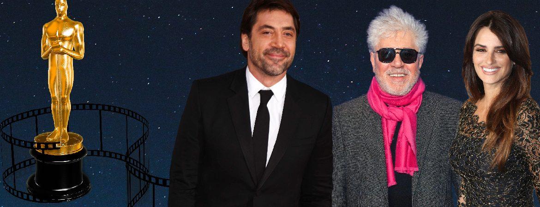 Pedro Almodóvar, Javier Bardem y Penélope Cruz, españoles ganadores de un Oscar