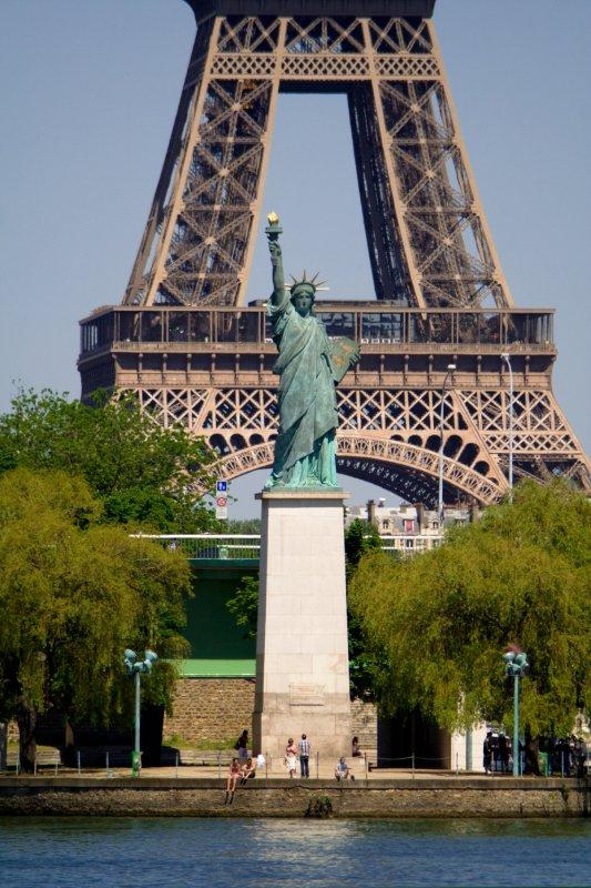Estatua de la Libertad de París