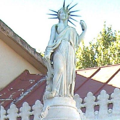 La estatua de la libertad madrileña que se adelantó a su hermana neoyorquina