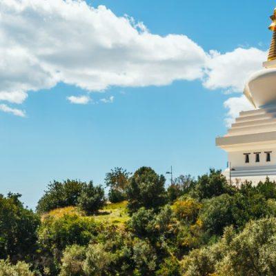La Estupa de la Iluminación de Benalmádena, el monumento budista más grande de Occidente