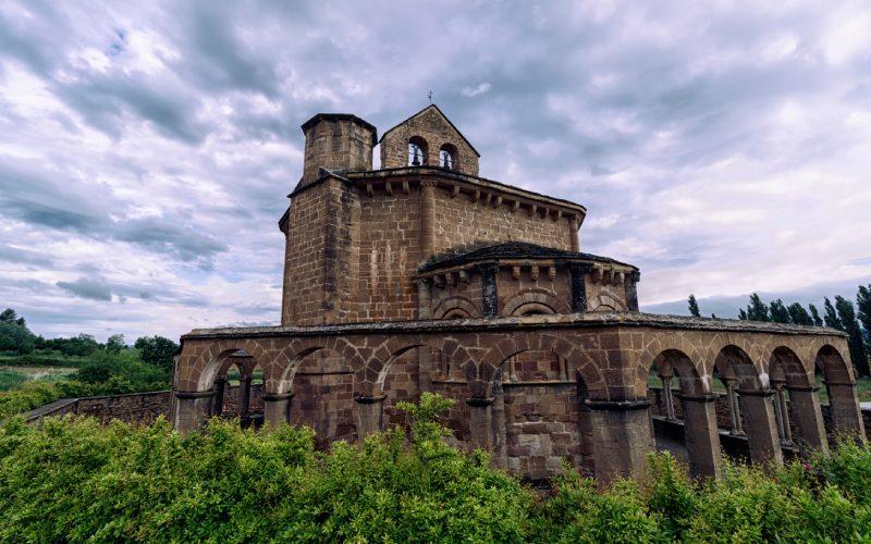 Ábside y galería de Santa María de Eunate