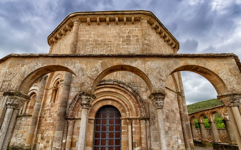 Pórtico de Santa María de Eunate