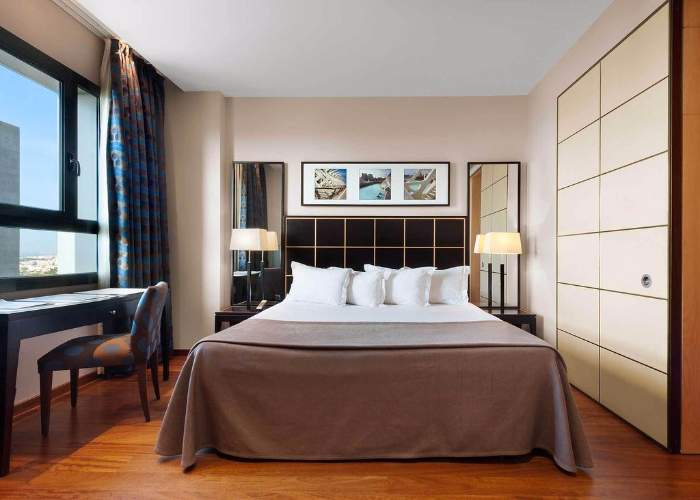 dormir valencia hotel eurostars gan valencia