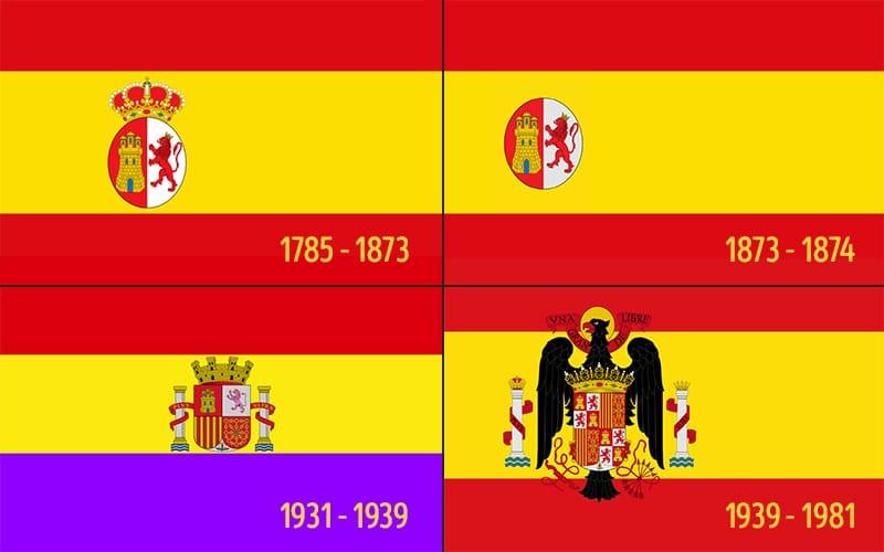 La Historia De La Bandera Espanola Espana Fascinante
