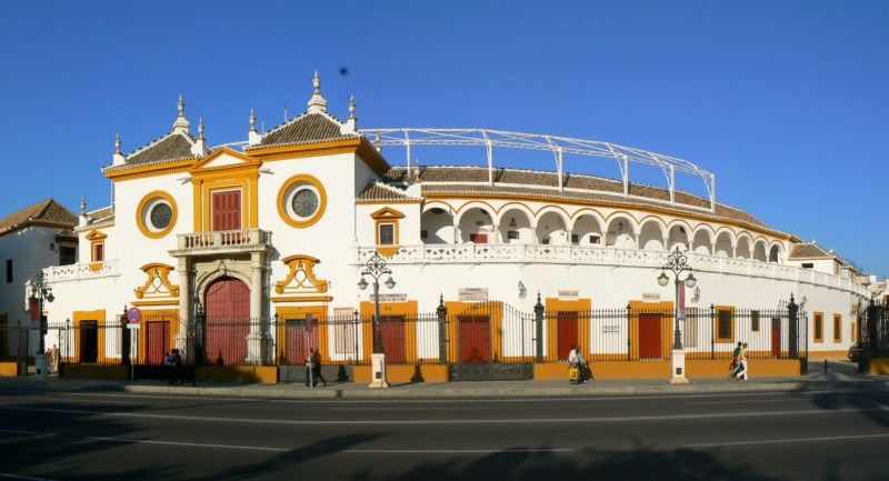 Fachada de la Real Maestranza de Sevilla