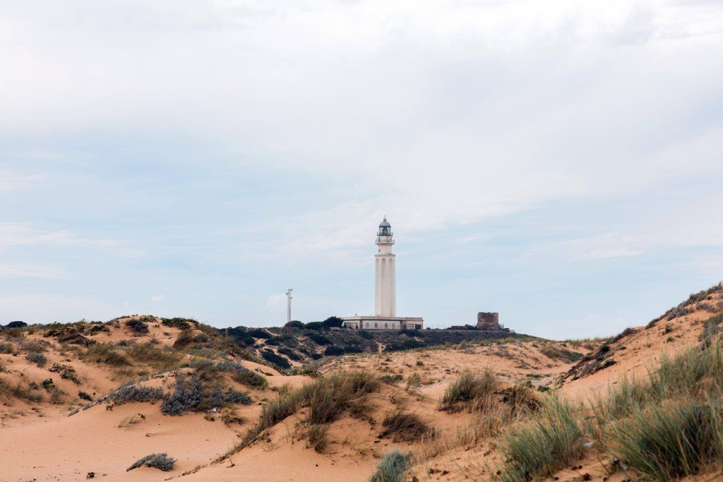 Vista del Faro de Trafalgar, Los Caños de Meca