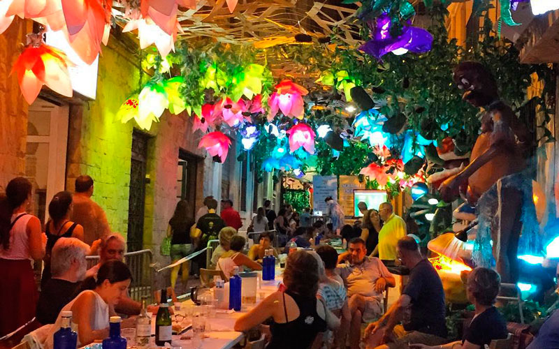 Fiesta Mayor de Gracia fiestas patronales de España en agosto
