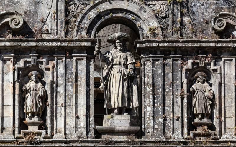 Representación del Apóstol en la catedral de Santiago