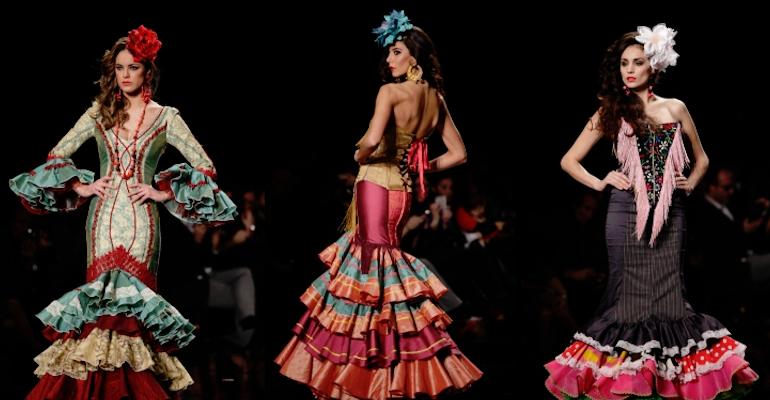 Prepara el vestido de flamenca para la Feria de Abril