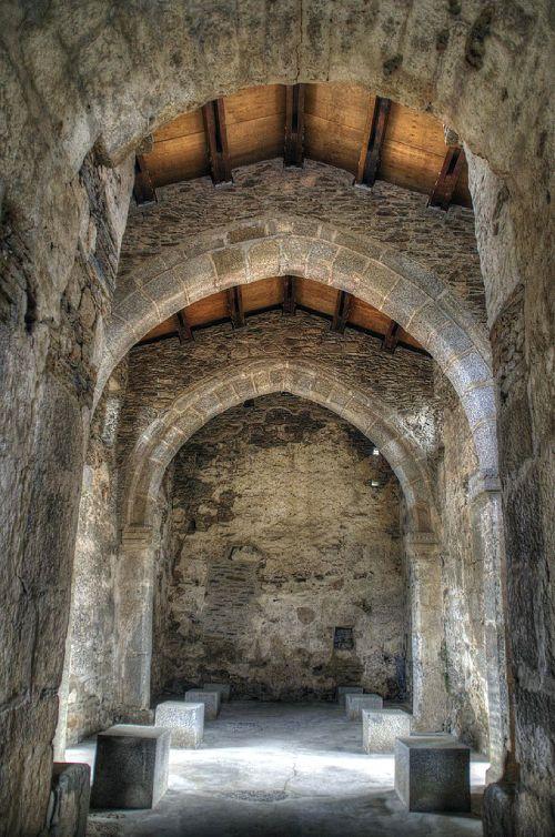 Fondo oeste de la nave de Santa Lucía del Trampal