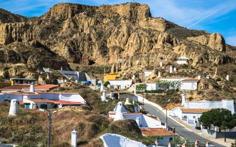 Casas-cueva en Guadix